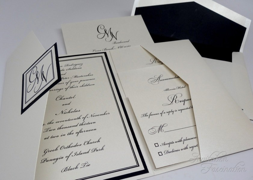 Top quality invitations