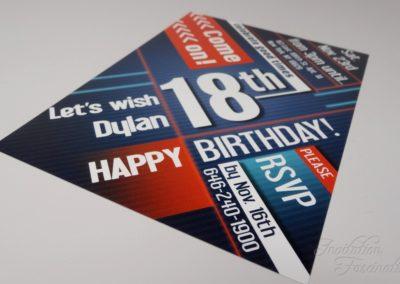 18th Birthday Flyer