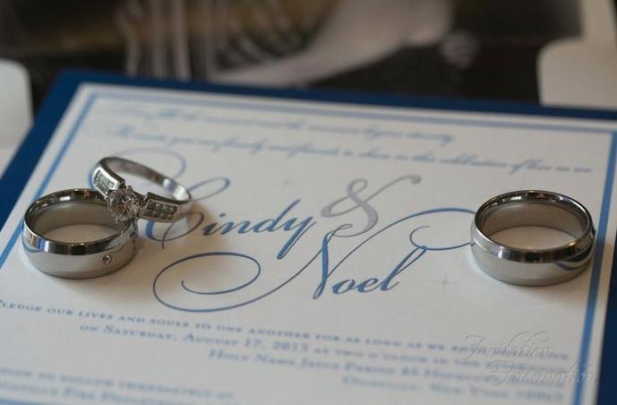 Cindy and Noel Wedding